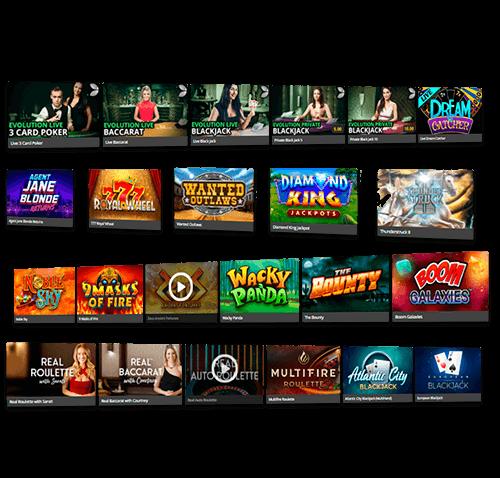 Online casino games at Royal Vegas Canada