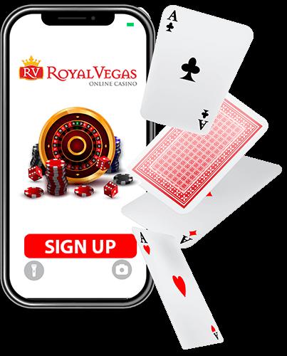 Play Mobile Casino at Royal Vegas