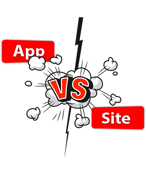 Mobile casino site vs mobile app