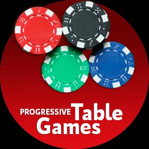 Progressive table games