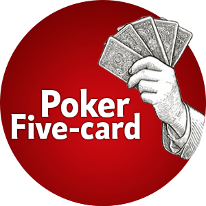 Poker with five cards