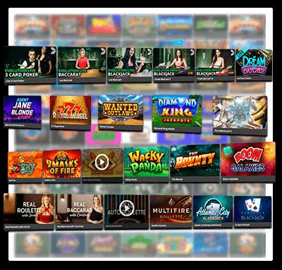Royal Vegas Games Variety