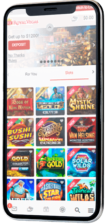 Play online casino slots at mobile phone