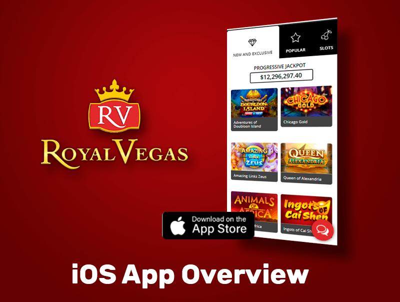 Characteristics of Royal Vegas App for iPhone