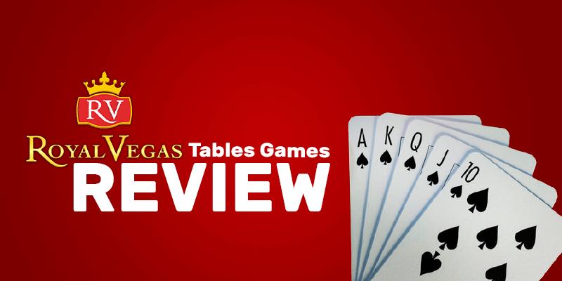 Progressive Tables Games Review