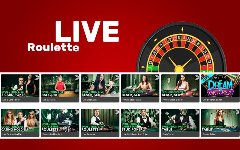 Superb Live Roulette Games