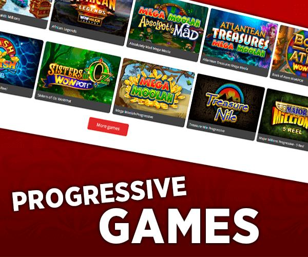 Progressive games